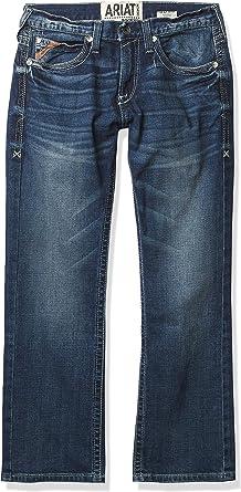 Amazon Com Ariat Men S M7 Rocker Stretch Coltrane Stackable Straight Leg Jean Clothing