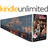 51 Inspirational Sweet Western Romances Box Set (Mega Box Set Series Book 11)