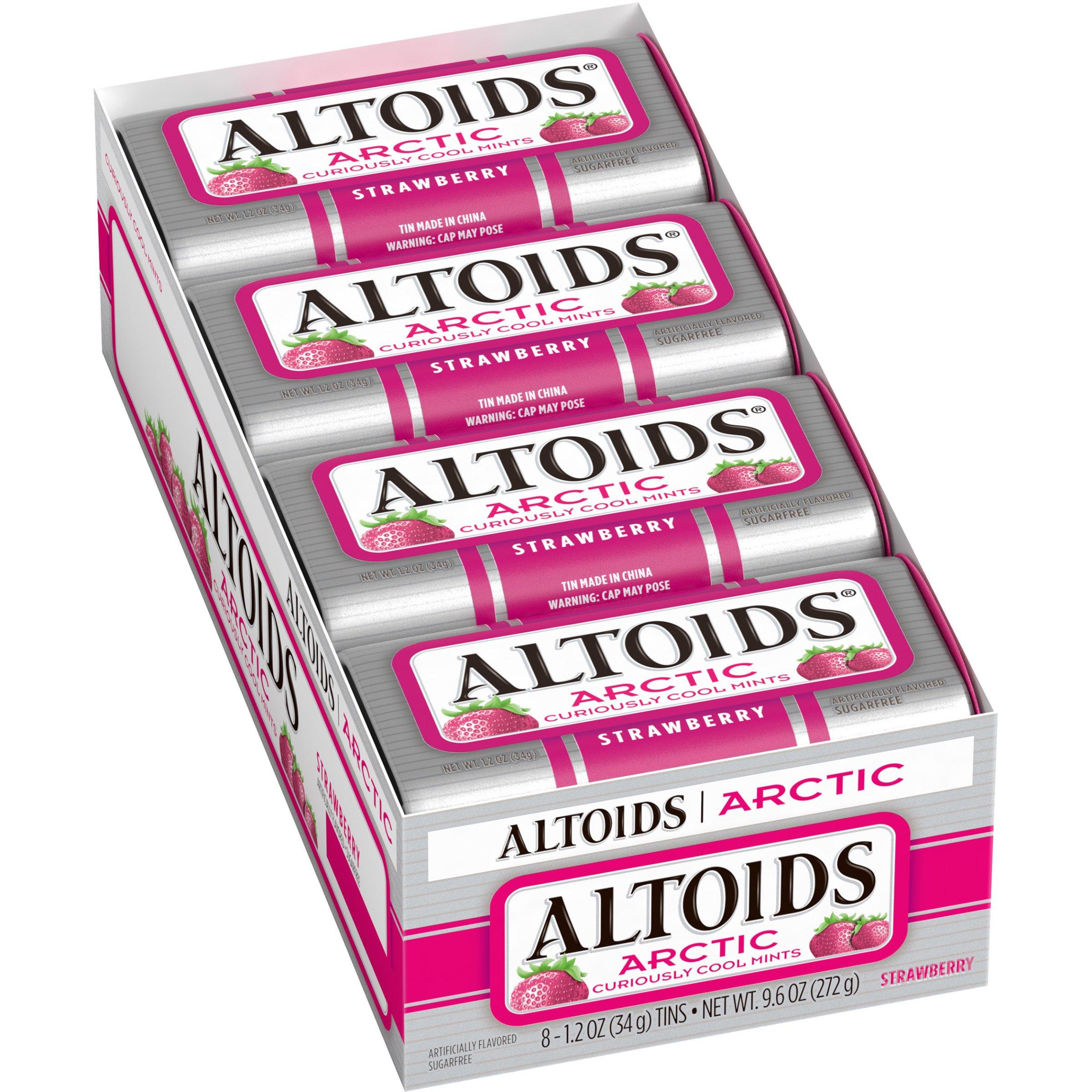 Amazon.com : Altoids Arctic Mints, Wintergreen, 1.2 Ounce (8 count ...
