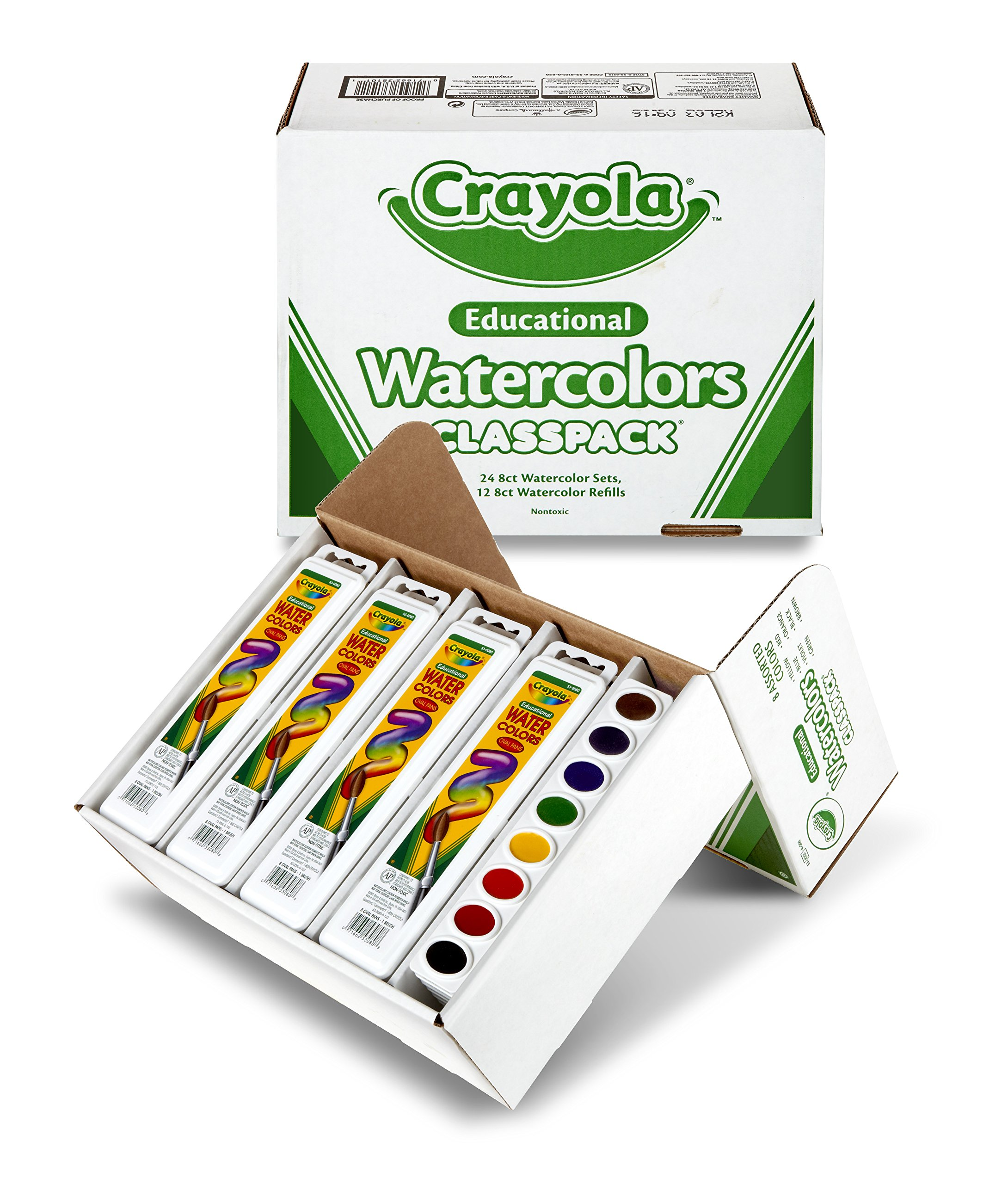 Crayola Educational Watercolors Classpack by Crayola (Image #1)
