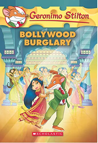 Geronimo Stilton #65 the Bollywood Burglary