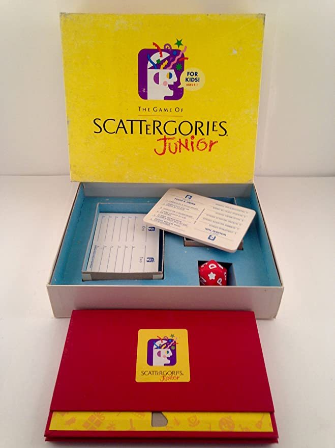 Amazon Com Scattergories Junior Toys Games