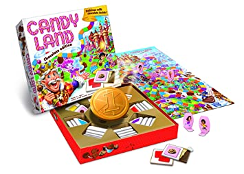 Candyland Chocolate Editions of Hasbro Games Candyland Chocolate Edition,  5 4