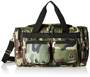 3a8c061fafe8 Rockland Luggage 19 inch Tote Bag, Camo, One Size