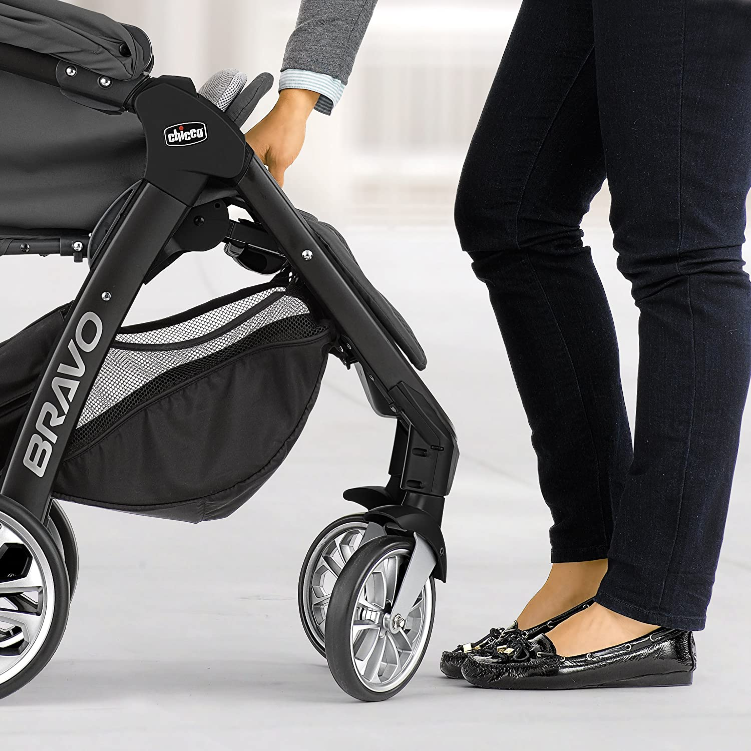 Amazon Chicco Bravo LE Trio Travel System Silhouette Baby