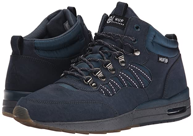 quality design fe5ff 1bf5e HUF Men s HR-1 Boot Inspired Runner, Dark Navy Charcoal Grey, 8 M US   Amazon.de  Schuhe   Handtaschen