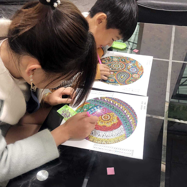 DIY 5D Diamond Painting Full Square Kits Caballo Corriendo Pintura de Diamantes Cuadrado Embroidery Supplies Rhinestone Pintura Cristal Manualidades Lienzo de Arte de Pared de Imagen 40 x 50 cm