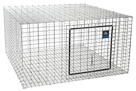 Amazon.com: Little Giant24 inch X 24 inch X 16 inch Rabbit Hutch ...