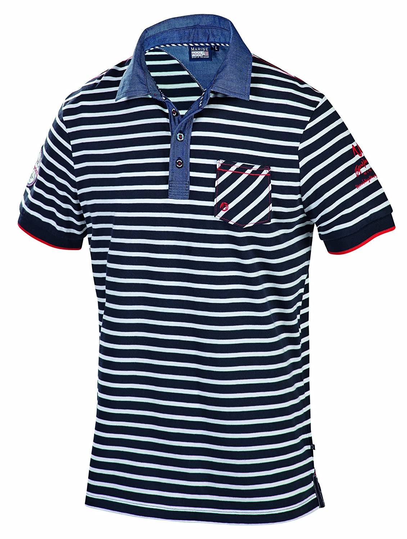 Marinepool Fashion - Men Polo Henry - Camiseta/Camisa Deportivas ...