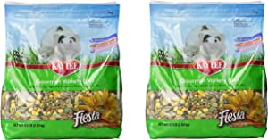 (2 Pack) Kaytee Fiesta For Mouse And Pet Rats, 4.5-Pound Bags