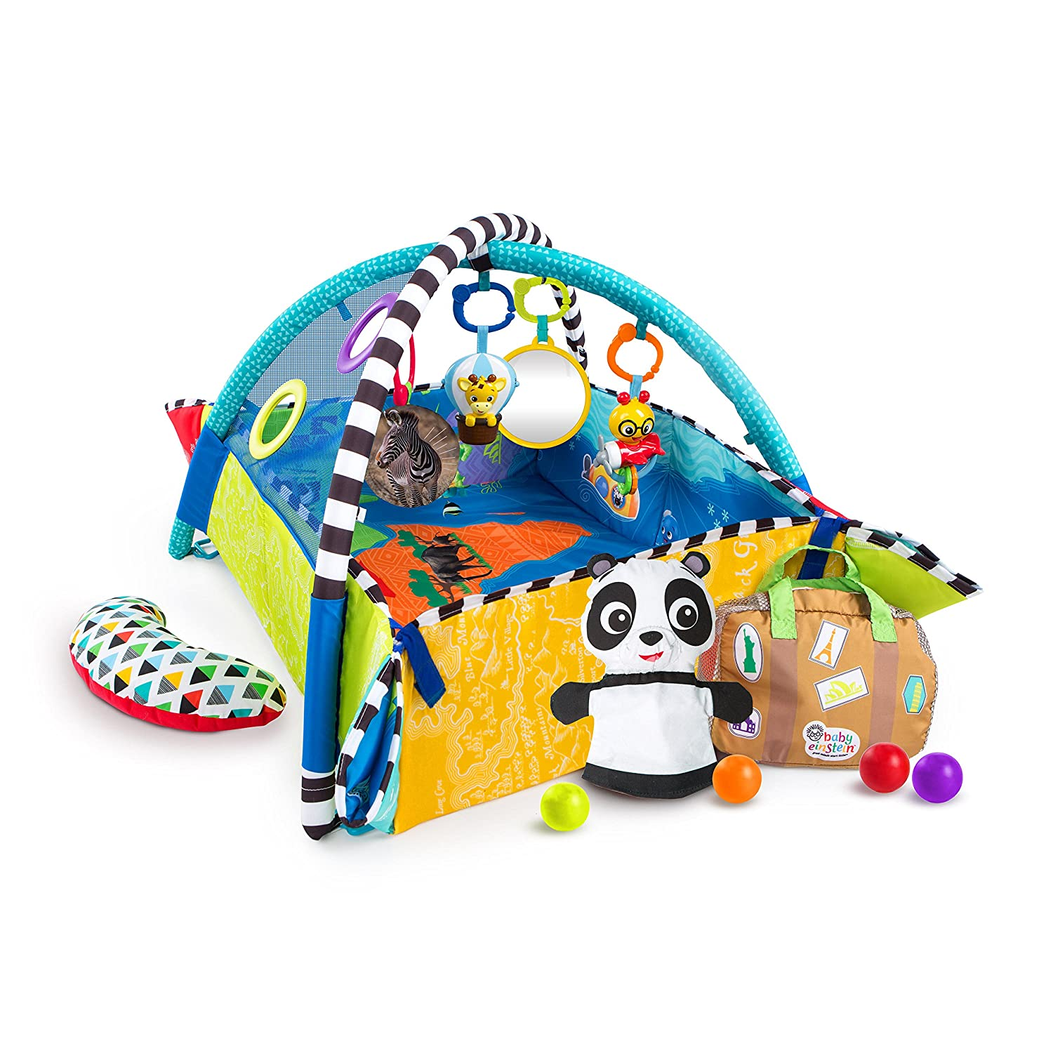 Baby Einstein 5-in-1 Journey of Discovery Activity Gym Kids II - (Carson CA) 11287-2-W11