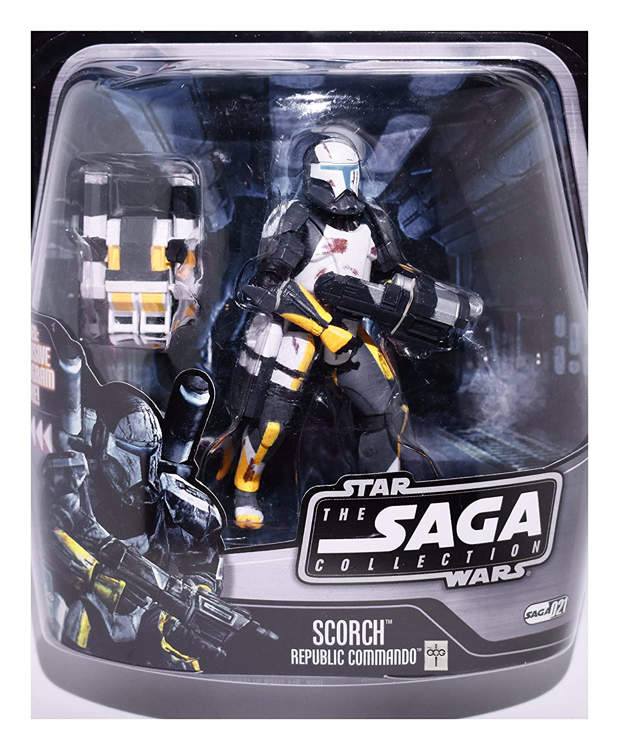 Star Wars: The Saga Collection Ultimate Galactic Hunt > Scorch ( 21) Action Figure by Prannoi