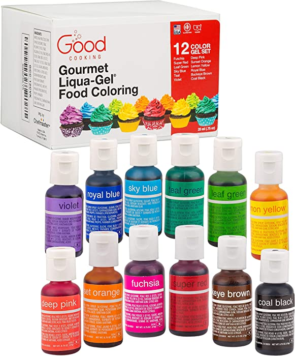 Top 9 Good Cooking Food Coloring Liquagel
