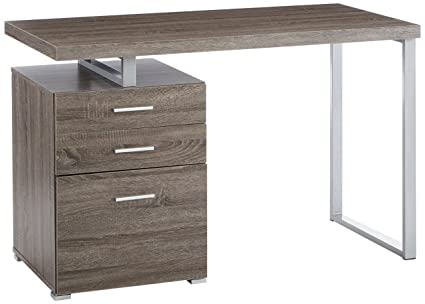 Office desks with drawers Metal Image Unavailable Amazoncom Amazoncom Office Desk With File Drawer And Reversible Setup