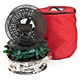 santas bags install n store light storage reels - Christmas Light Storage Reels