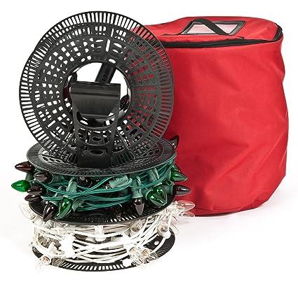 santas bags install n store light storage reels