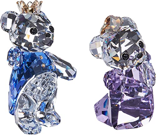 Swarovski Crystal Kris Bear- Prince Princess Figurine New 2018