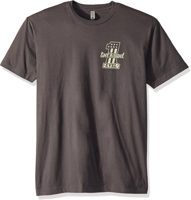 American Classics Evel Knievel Snake River Jump Adult Short Sleeve T-Shirt
