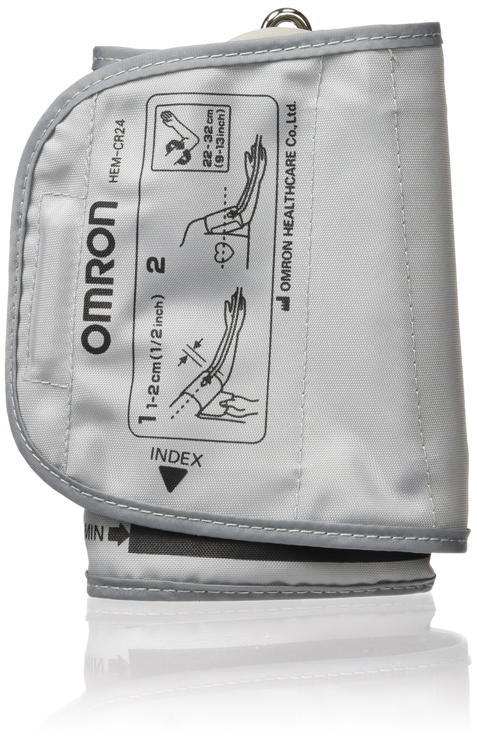 Omron Healthcare H-CR24 D-Ring BP Cuff, Standard, Wide Range 9''-13'' ()