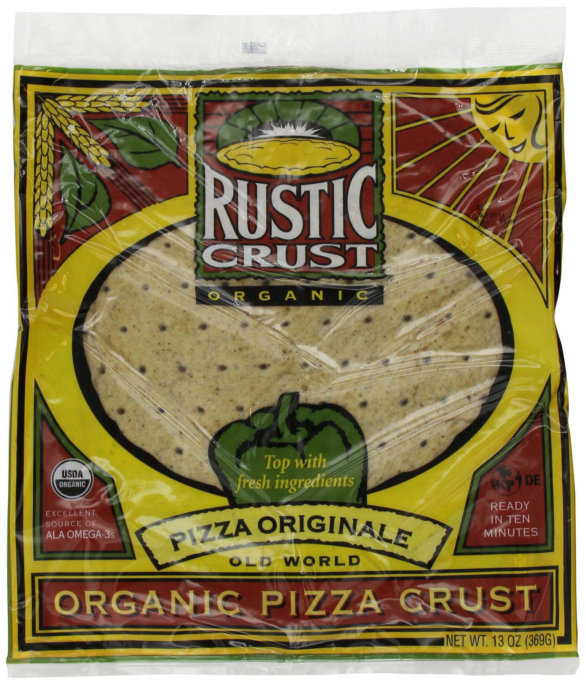 Rustic Crust Original Organic 12 inch, 13-Ounce (Pack of 4) by Rustic Crust (Image #1)