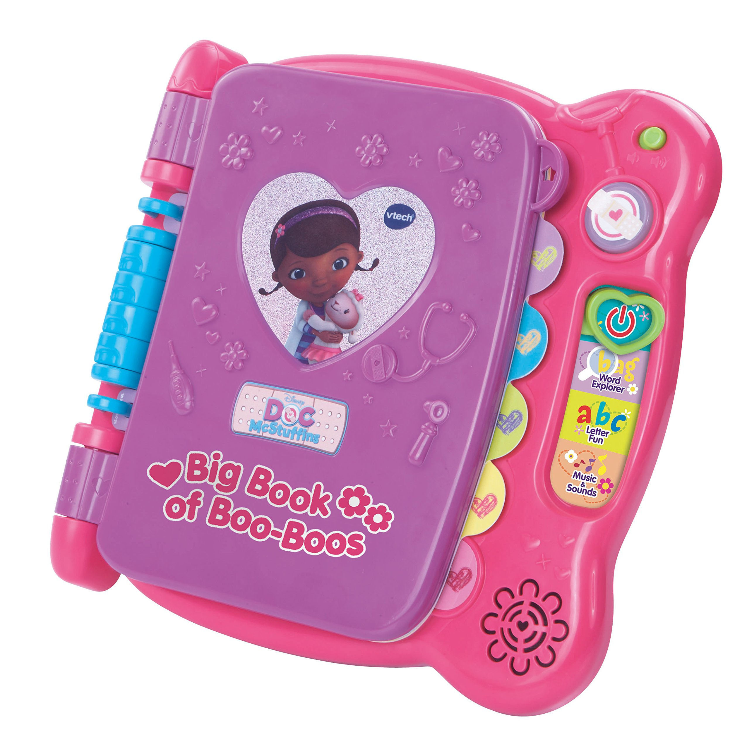 VTech Disney Doc McStuffins Discover and Learn Big Book of Boo-Boos by VTech (Image #3)