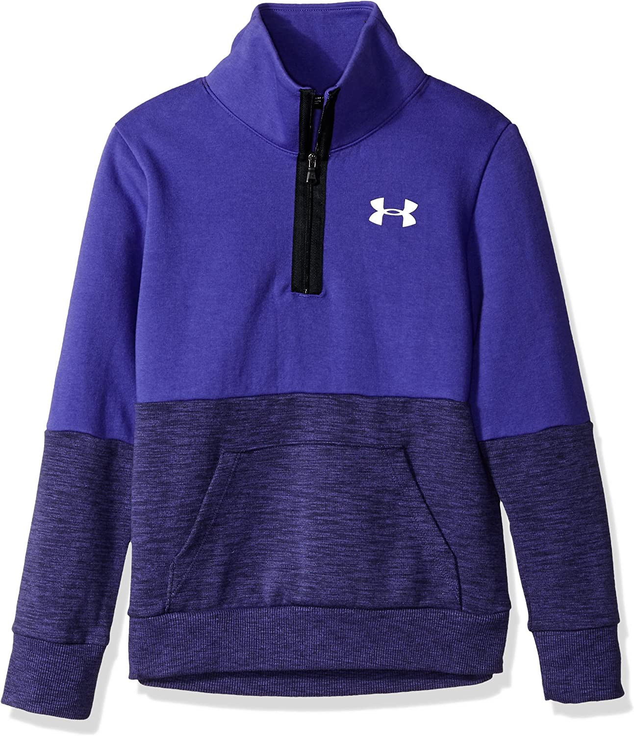 Under Armour girls Under Armour Girls Double Knit 1//2 Zip