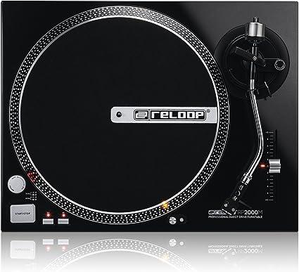 Amazon.com: Reloop rp-2000-m Tocadiscos DJ con cuarzo Driven ...