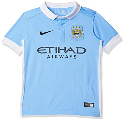 Amazon.com  Nike Boys Manchester City Home Stadium Jersey  Field ... a17e26a8c