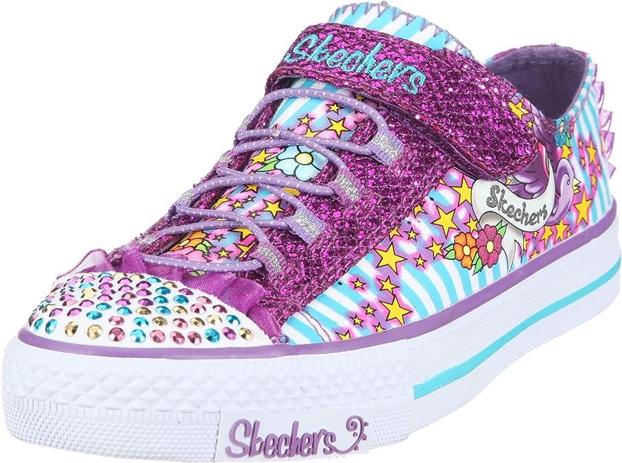 Skechers Shuffles Skip A Lots Twinkle Toes Shuffles 83255L