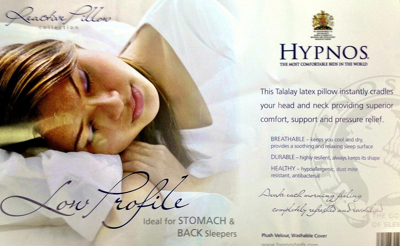 Hypnos Low Profile Latex Pillow: Amazon