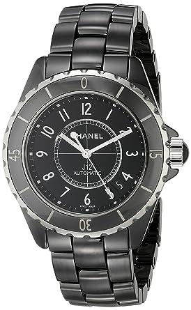 a58f2b8f Chanel Men's H0685 J12 Black Dial Watch