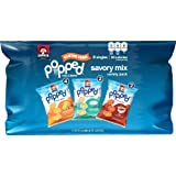 Quaker Popped Rice Crips Snacks, Gluten Free, Savory Snack Mix, 0.67 Ounce 8 count