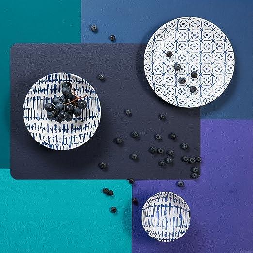 ASA Set de table PVC Aspect Cuir Indigo 33 x 46cm 7818420