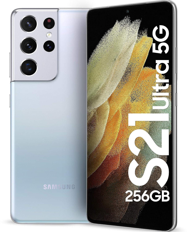 SamsungGalaxyS21Ultra5GPhantomSilver12GB256GBStorage