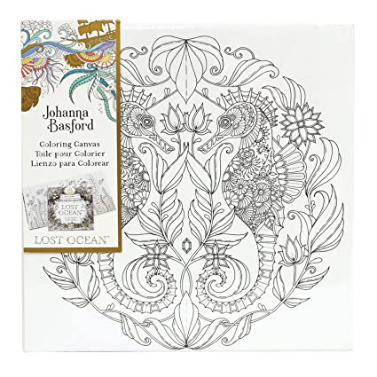 Amazon.com: Art Alternatives Johanna Basford Lost Ocean Coloring ...