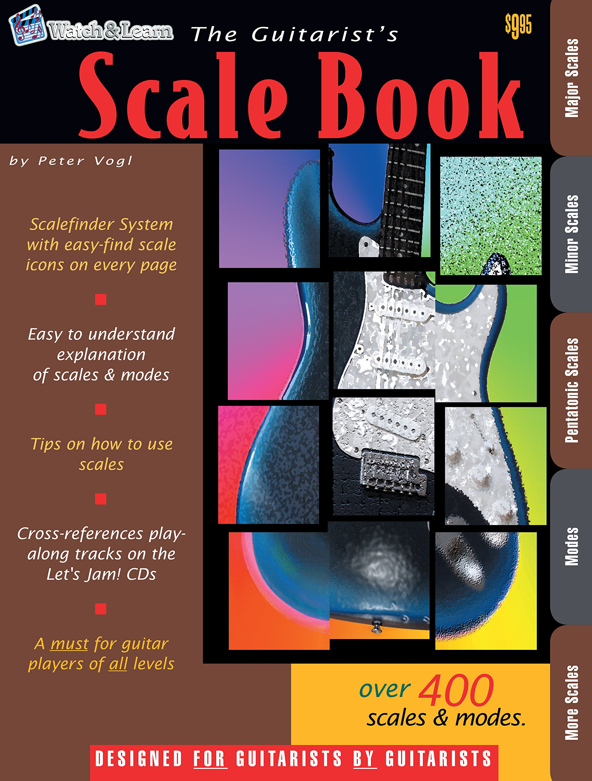 The Guitarists Scale Book Over 400 Guitar Scales And Modes Peter
