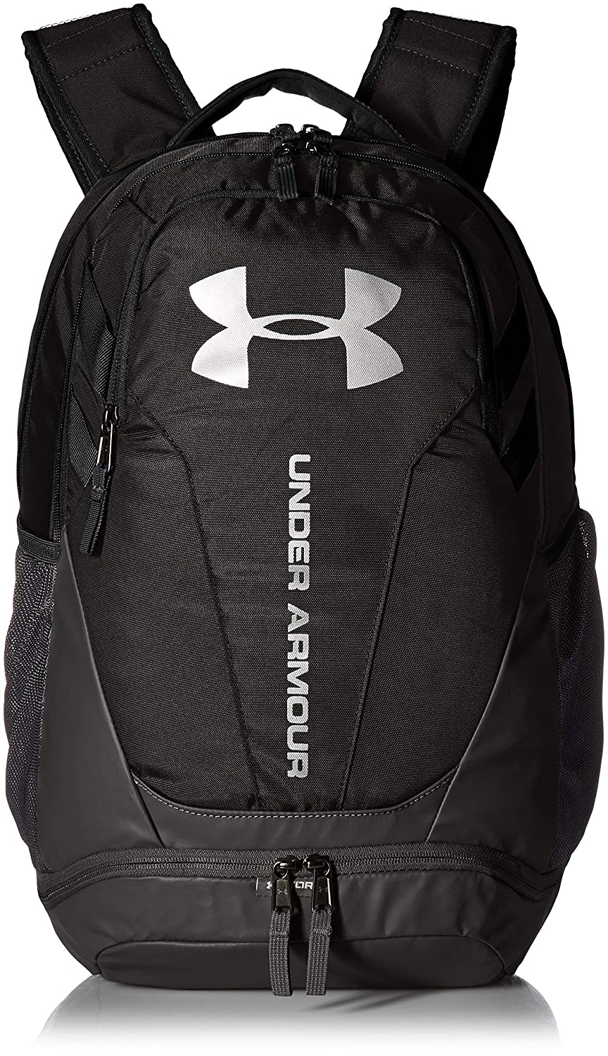 460b3a8738 (CERTIFIED REFURBISHED) Under Armour 30 Ltrs Penta Pink Graphite Graphite  Laptop Backpack (UA Hustle 3.0 Backpack)  Amazon.in  Bags