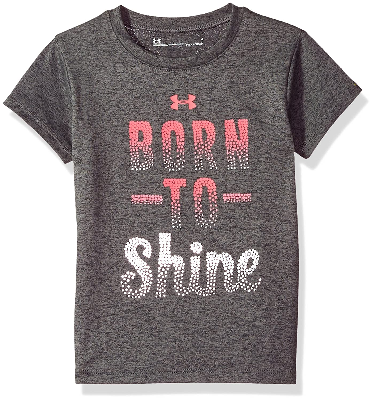 Under Armour Girls Born to Shine Short Sleeve T-Shirt