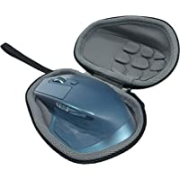Flycoo harde schaal draagtas voor Logitech MX Master/Master 2S/Master 3 muis San Kabel Box (Zwart)
