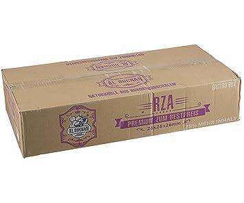 Al duchan Shisha Coco Natural Carbón BBQ Carbón RZA Gastro 12, 5 kg (26 x 26 x 26 mm): Amazon.es: Jardín