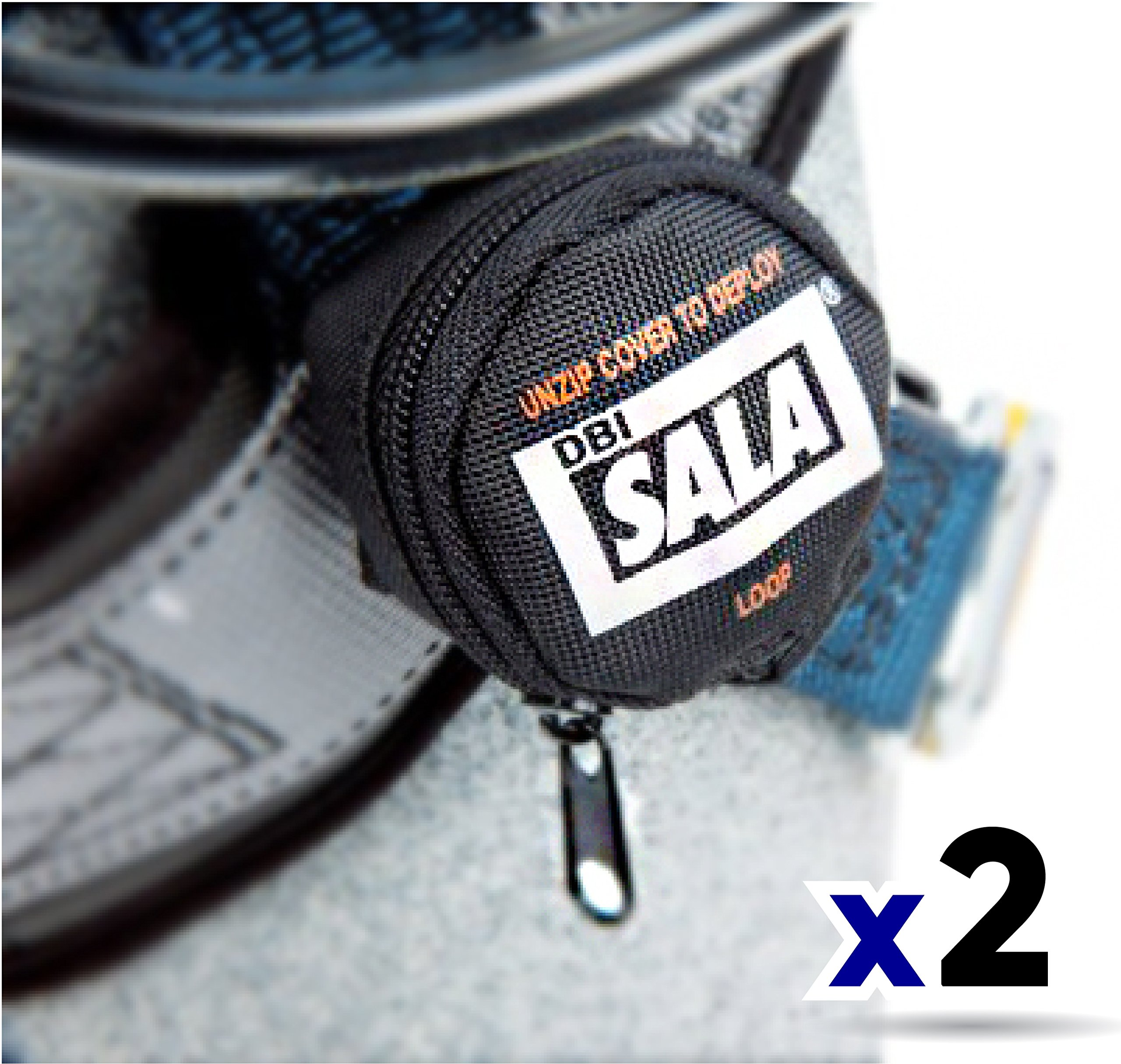 3M DBI-SALA 9501403 Fall Protection Full Body Harness Accessory, Suspension Trauma Safety Straps, Black (2 Pack)