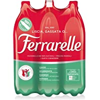 Ferrarelle Acqua Minerale Effervescente Naturale 1.5L (Confezione da