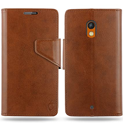 timeless design f8313 0817e Cool Mango Business Flip Cover for Moto X Play - 100% Premium Faux Leather  Flip Case for Motorola Moto X Play with 360 Degree Stitching, Magnetic ...