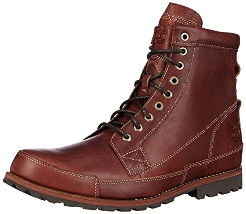 Timberland EK Originals Boots FTM_EK Original Leather 6 in Boot - Botines Desert de Cuero Hombre, Color marrón, Talla 40: Amazon.es: Zapatos y complementos