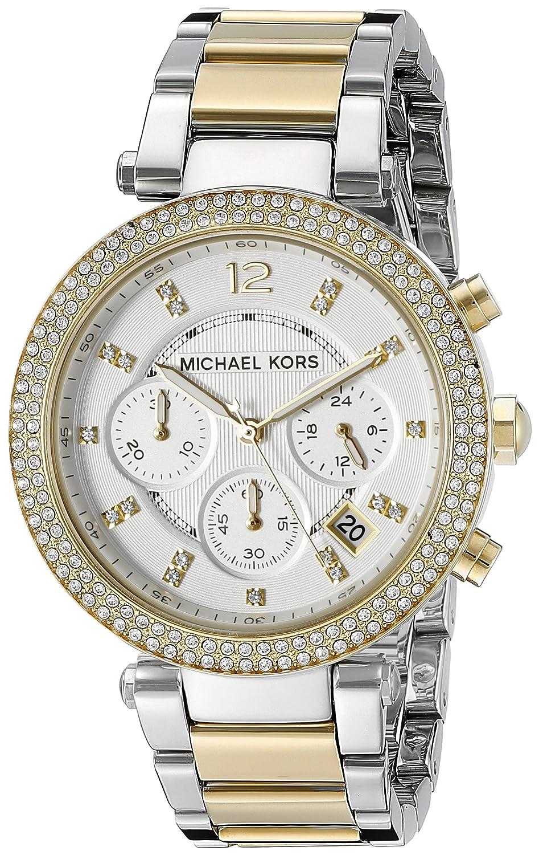 7011223af9ea Amazon.com  Michael Kors Women s Parker Two-Tone Watch MK5626  Michael Kors   Watches