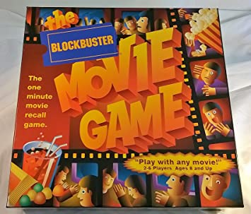 Amazon.com: The Blockbuster Movie Game -- The One Minute Movie ...