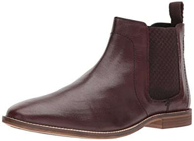 Ben Sherman Men's Gaston Chelsea Boot, Brown, ...