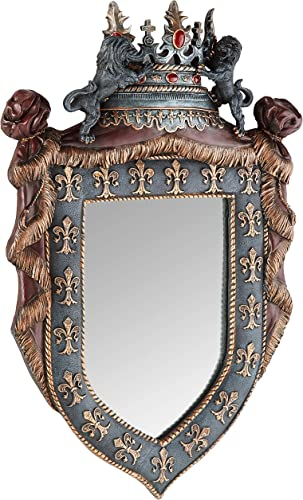 Design Toscano CL3427 Chteau St. Roche Sculptural Wall Mirror,full color