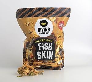 IRVINS Salted Egg Fish Skin Crisps 230g