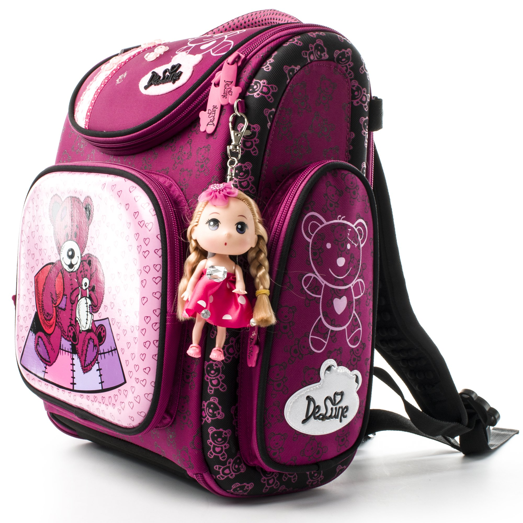 Kids Backpack for Girls and Boys Cute School Bag - Waterproof/Unique/Noble (3-123)